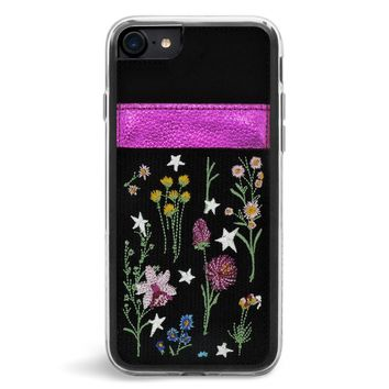 Rambler Wallet Embroidered iPhone 7/8 Case