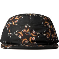 Black Crime 5 Panel Cap