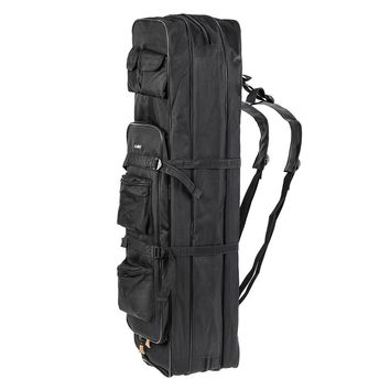 LEO Outdoor 3 Layer Fishing Bag Backpack 80cm/100cm Fishing Rod Reel Carrier Bag Fishing Pole Tackle Bag Carry Case Travel Bag