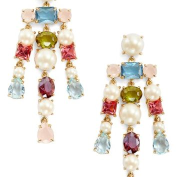 kate spade new york a new hue crystal drop earrings | Nordstrom