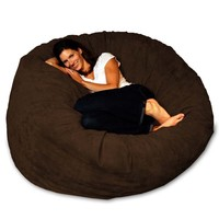 Faux Leather Theater Sack Bean Bag Chair