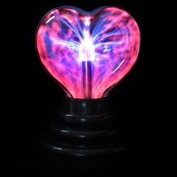 Music / Sound Activated Plasma Heart Night Light Lamp Lighting 110V