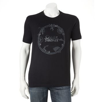 Game of Thrones Houses Tee