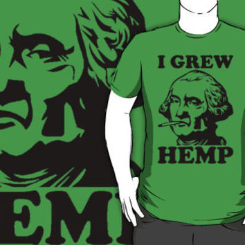 george washington smoking pot shirt