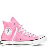 Chuck Taylor Classic Colors - Hi Pink - All Star - Converse.com