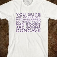 Pitch Slapped - Text Tees