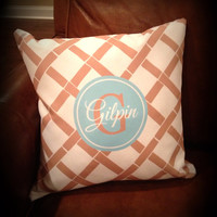 Personalized Throw Pillow Monogrammed  Pillow by SassySouthernGals