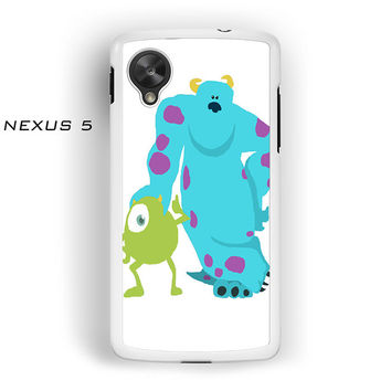 monsters inc mike and sully for Nexus 4/Nexus 5 phonecases