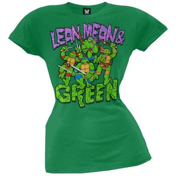 DCCKU3R Teenage Mutant Ninja Turtles - Mean & Green Juniors T-Shirt