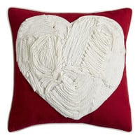 Taped Heart Pillow