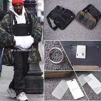 Alyx cross shoulder bag Backpacks New hot fashion hip hop streetwear functional chest bag kanye west