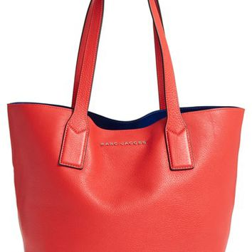 MARC BY MARC JACOBS Leather Shopping Tote | Nordstrom