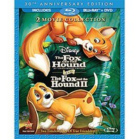 The Fox and the Hound/The Fox and the Hound II - 3-Disc Blu-ray and DVD Set | Disney Store