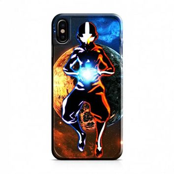 Avatar Aang the Last Airbender iPhone X Case