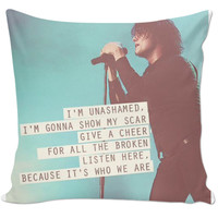 Gerard Way Quote Pillow