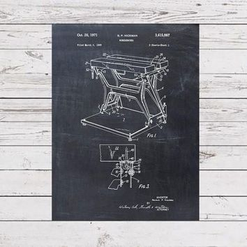 Workmate Workbench Patent Print - Patent Art Print - Patent Poster - Tools - Work Bench Retro - Woodworking Decor - Carpenter Gift