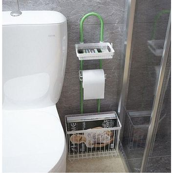 multifunction bathroom reading rack toilet shelving shelf storage rack