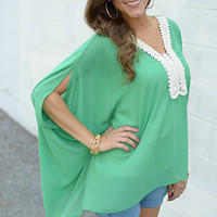 Far Out Blouse, Green