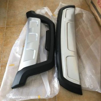 DCCKFS2 Car styling ABS Front + Rear Surround bumper cover trim For Lifan x60 2PCS