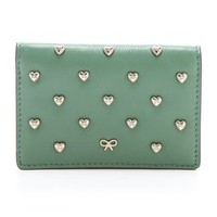 Anya Hindmarch Studded Heart Card Case | SHOPBOP