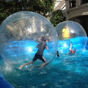 Inflatable human hamster water ball