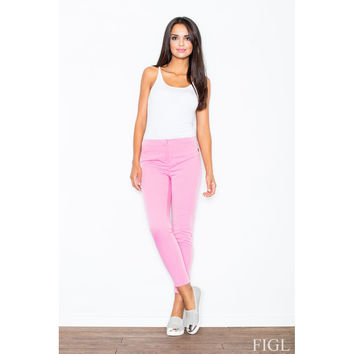 Cigarette Trousers (Pink)