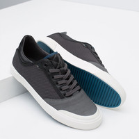 FABRIC TOP STITCHED SNEAKERS