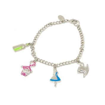 Disneyland Paris Alice In Wonderland Charm Bracelet | Disney Store
