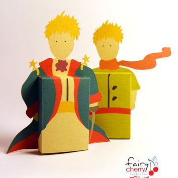 Little Prince emotibox - Customized geek paper box for season greetings, birthday wishes, expressing emotions