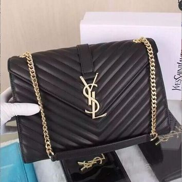 YVES SAINT LAURENT COWHIDE CASSANDRE BAGS YSL_BAG-1