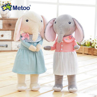 Genuine angela metoo forest lucky elephant cute sweet plush toy doll couple doll a generation angela Plush Toy For Kids Metoo