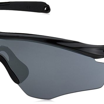 Oakley Men's M2 Frame XL OO9343-09 Polarized Iridium Shield Sunglasses