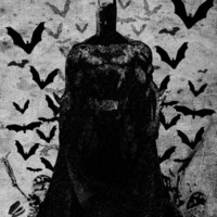 The night rises B&W Art Print by UvinArt