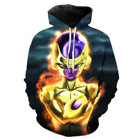Golden Frieza Dragon Ball Z Hoodie