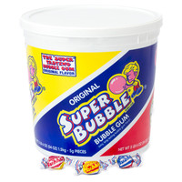 Super Bubble Gum - Original: 300-Piece Tub