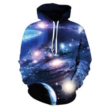 Planet Hooded Sweater