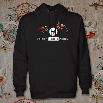 twenty one pilots drums Hoodie,Unisex Adults Size,Available Color White Black