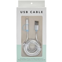 Metallic USB Cable Charger