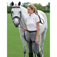 Pikeur Lugana II Contrast Full Seat Breeches - 82 Fabric