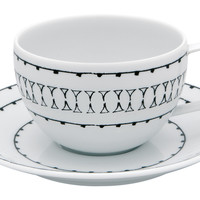 Nero Teacup & Saucer, Tea Cups & Saucers