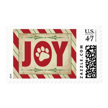 Paw Liday's Holiday Postage Stamp