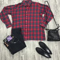 Vintage Winter Flannel from shopoceansoul