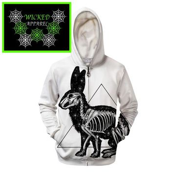 Wicked Apparel Kanickel Hoodie By Pixie cold #377