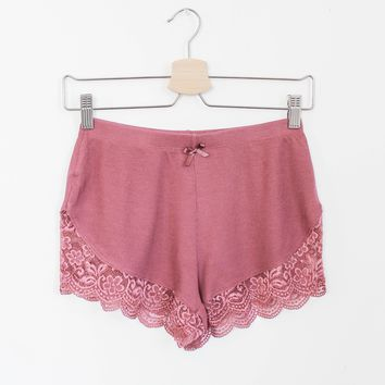 Lacy Lounge Shorts - More Colors