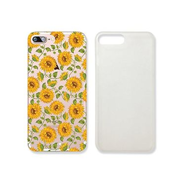 Sunflower Transparent Plastic Phone Case for iphone 7 _ SUPERTRAMPshop (iphone 7)