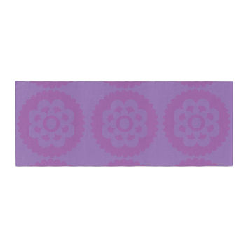 "Nicole Ketchum ""Moroccan Lilac"" Bed Runner"