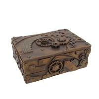 Steampunk Trinket / Jewelry Box Steam Punk Stash