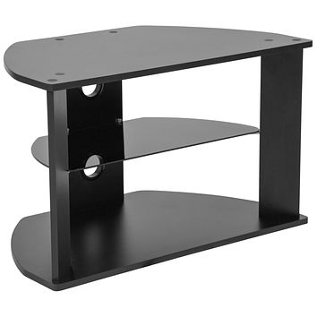 Northfield TV Stand with Glass Shelves