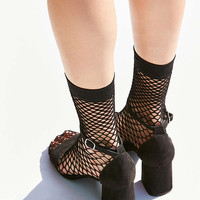 Out From Under Wide Fishnet Crew Sock | Urban Outfitters