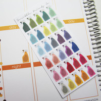 30 Spray Bottle Die-Cut Stickers // (Perfect for Erin Condren Life Planners)